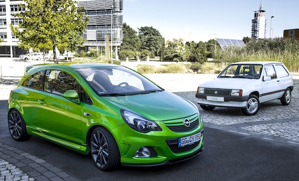 Opel Corsa Spain June 2013