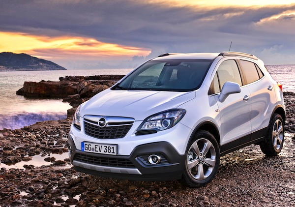 Opel Mokka Hungary June 2014