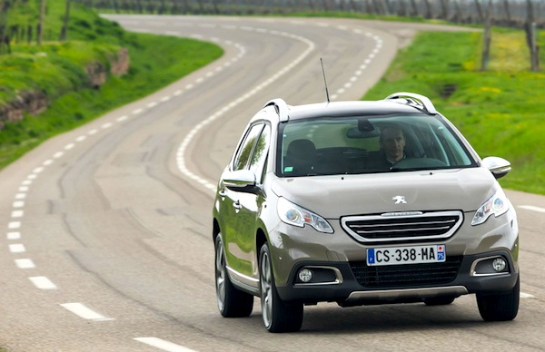 Peugeot 2008 Portugal 2014. Picture courtesy of largus.fr