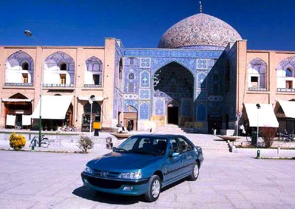 Peugeot Pars Iran Aban 1392