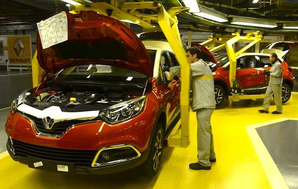 Renault Captur Valladolid Spain June 2013