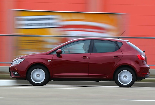 Seat Ibiza UK September 2013. Picture courtesy of Auto Motor und Sport