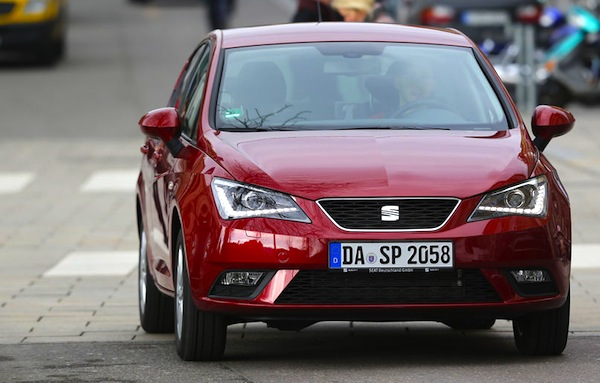 Seat Ibiza Spain June 2013. Picture courtesy of Auto Motor und Sport2