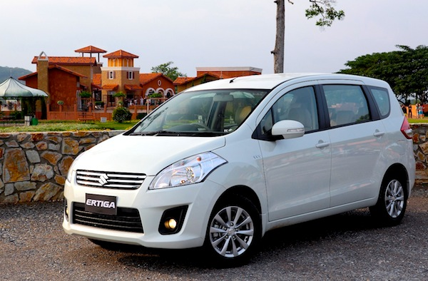 Suzuki Ertiga Indonesia September 2014