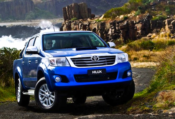Toyota Hilux Australia June 2013