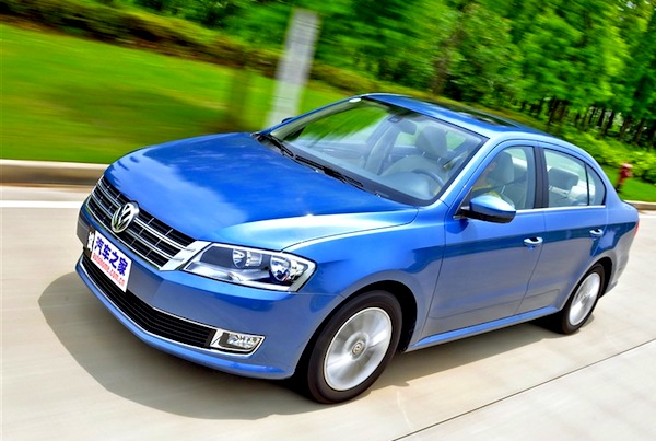 VW Lavida China 2013. Picture courtesy of autohome.com.cn