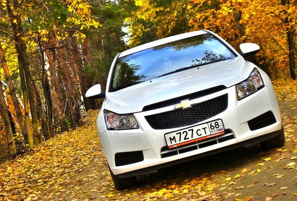 Chevrolet Cruze Russia July 2013