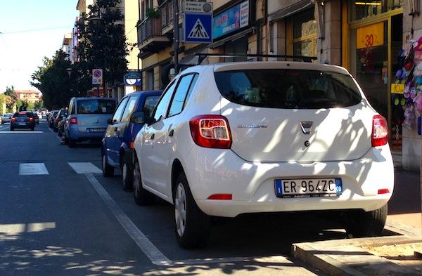 Dacia Sandero Italy August 2013