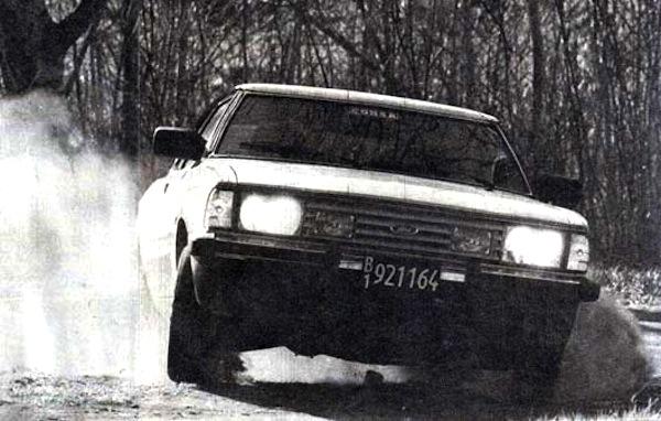 Ford Taunus Argentina 1982. Picture courtesy of testdelayer.com.ar
