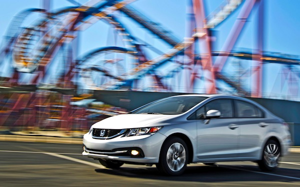 Honda Civic Canada July 2013. Picture courtesy of motortrend.com