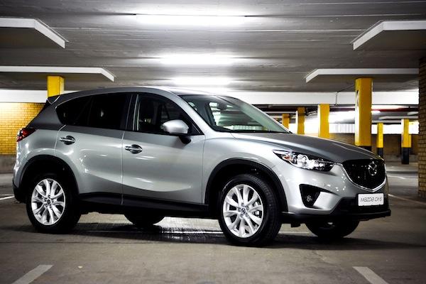 Mazda CX-5 Norway July 2013