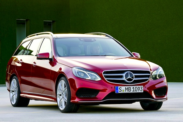 Mercedes E Class Germany July 2013