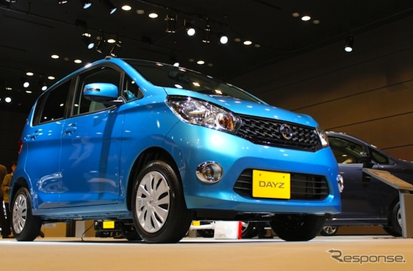 Nissan Dayz Japan July 2013. Picture courtesy of response.jp