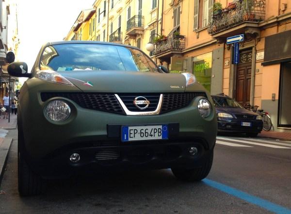 Nissan Juke Italy August 2013
