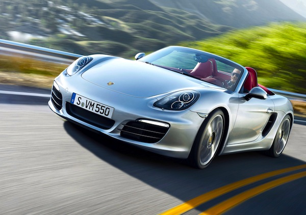 Porsche Boxster USA July 2013