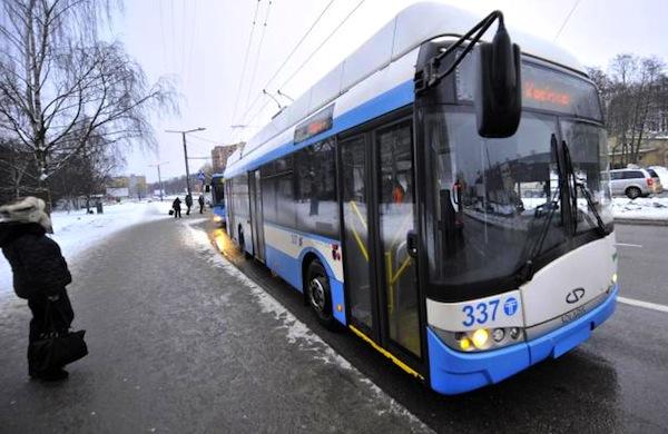 Tallinn Free Public Transport. Picture courtesy of directmatin.fr