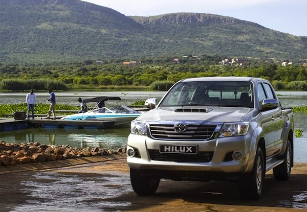 Toyota Hilux Cameroon June 2014. Picture courtesy of saudishift.com