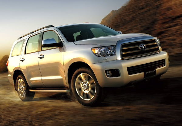 Toyota Sequoia Saudi Arabia June 2013