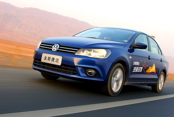 VW Jetta China June 2015. Picture courtesy of product.xgo.com.cn