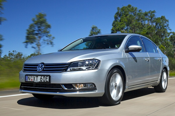 VW Passat Turkey July 2013