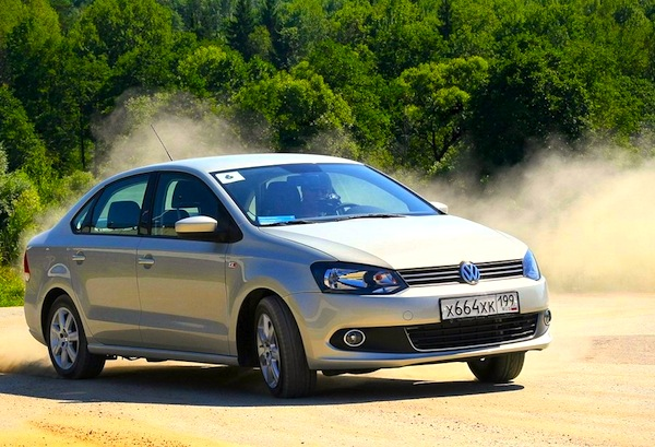 VW Polo Belarus 2013. Picture courtesy of zr.ru