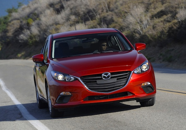 MY2014 Mazda 3 Canada October 2013. Picture courtesy of motortrend.com