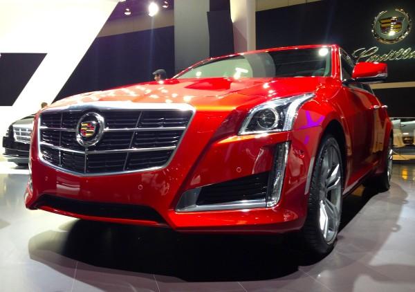 4 Cadillac CTS Frankfurt Auto Show September 2013