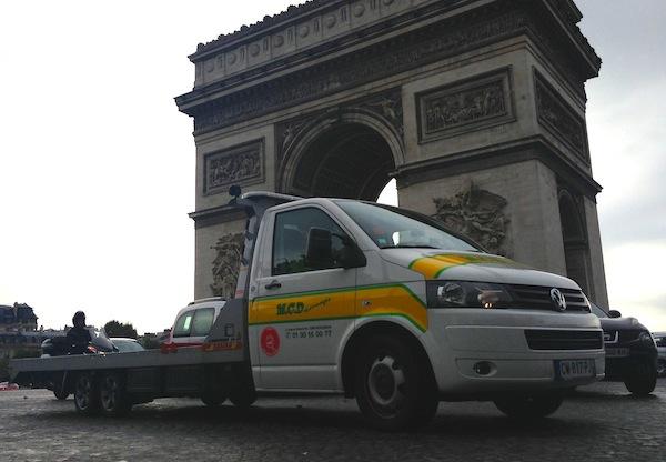 7 VW Transporter Pick-up Paris September 2013