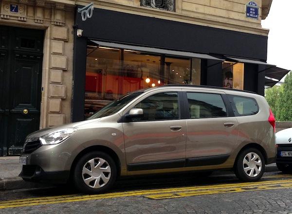 8 Dacia Lodgy Paris September 2013