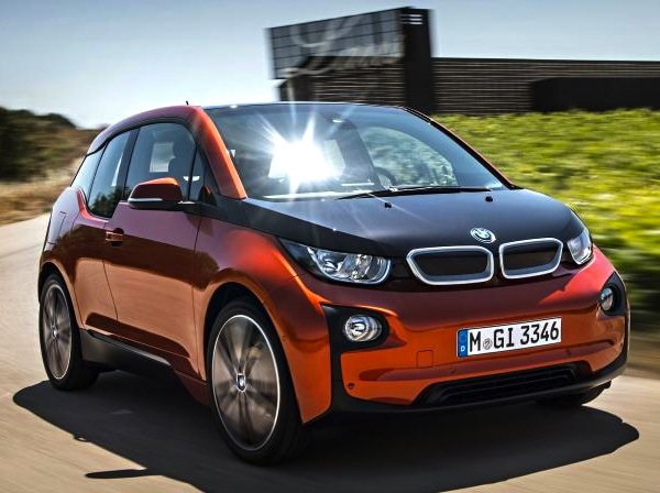 BMW i3 Germany August 2013. Picture courtesy of autozeitung.de