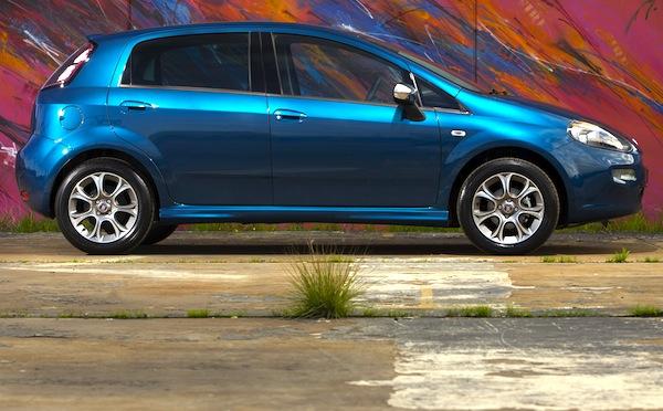 Fiat Punto Italy August 2013