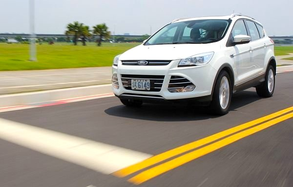 Ford Kuga Taiwan August 2013. Picture courtesy of autonet.com.tw
