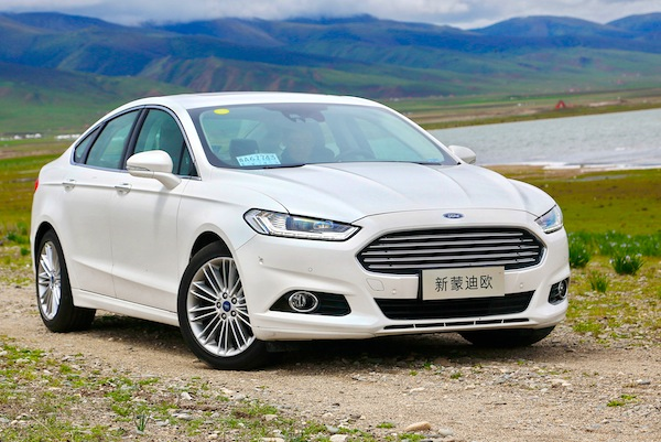 Ford Mondeo China August 2013. Picture courtesy of autoifeng.com
