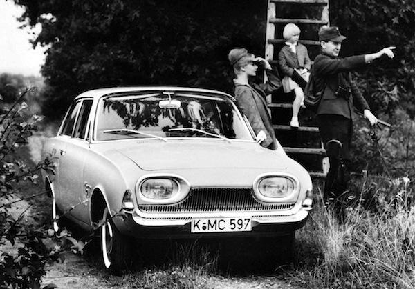 Ford Taurus 17M France 1963