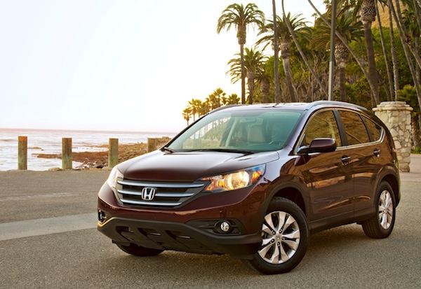 Honda CR-V USA August 2013. Picture courtesy of motortrend.com