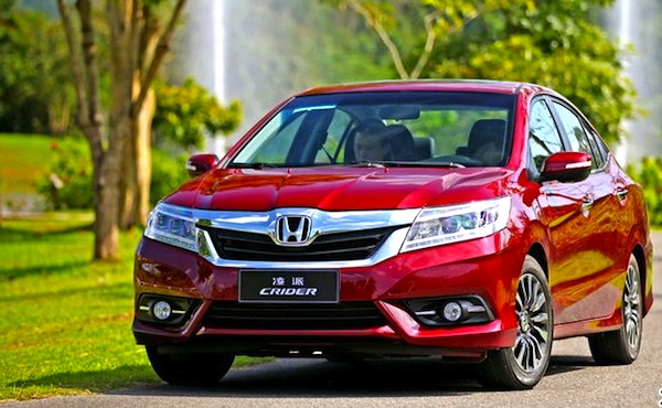 Honda Crider China August 2013. Picture courtesy of uol.com.br