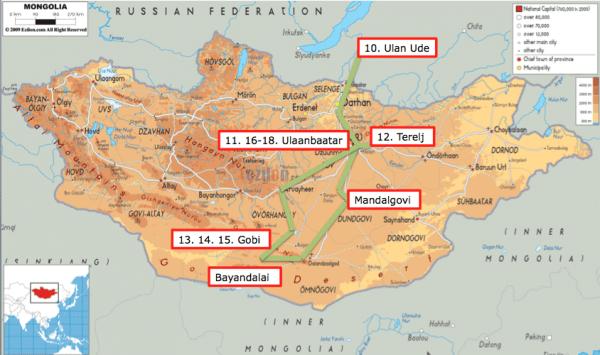 Mongolia Route Part 18
