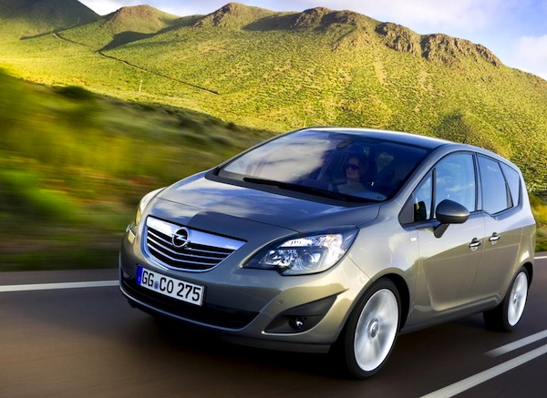 Opel Meriva France 2012. Picture courtesy of largus.fr