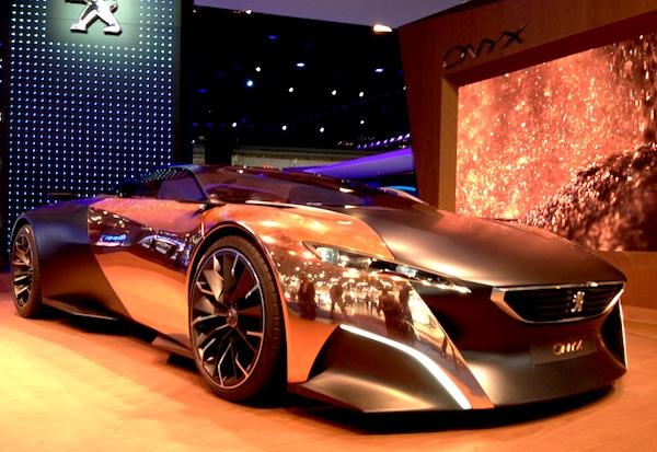 Peugeot Onyx Frankfurt Auto Show September 2013