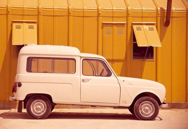 Renault 4 Fourgonette France 1963