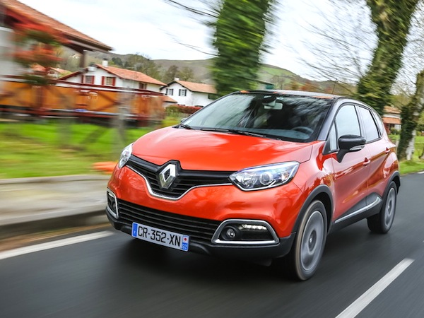 Renault Captur France August 2013. Picture courtesy of largus.fr