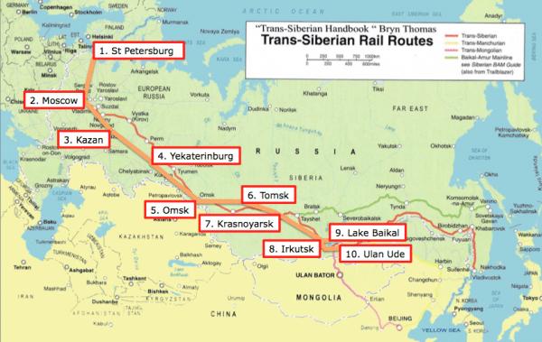 Trans-Siberian Route Part 10