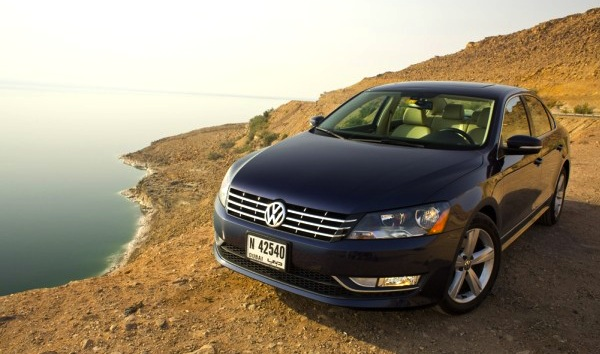 VW Passat Qatar July 2013. Picture courtesy of automiddleeast.com