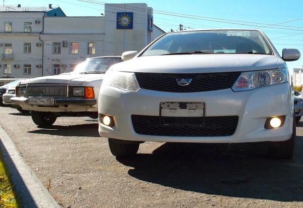 2 Toyota Allion GAZ Volga