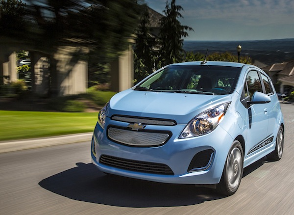 Chevrolet Spark EV South Korea September 2013