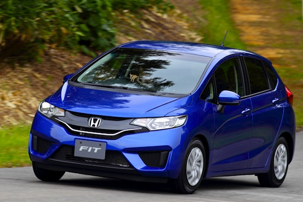 Honda Fit September 2013. Picture courtesy of autoc-one.jp