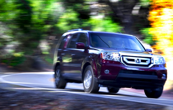 Honda Pilot USA Seprtember 2013. Picture courtesy of motortrend.com