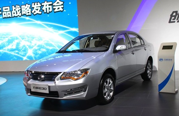 Lifan 630 China September 2013. Picture courtesy of bitauto.com