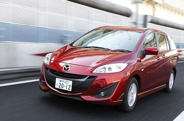 Mazda Premacy Japan September 2013