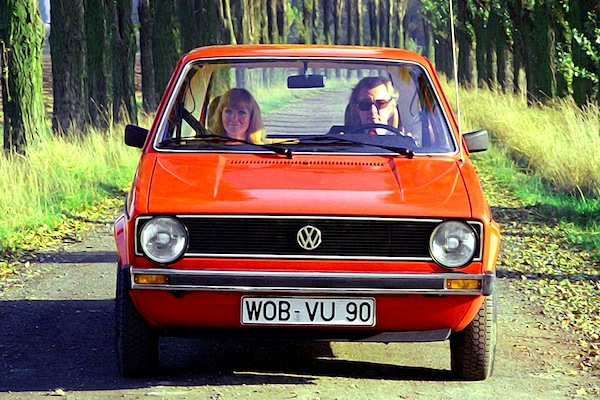 VW Golf Europe 1976